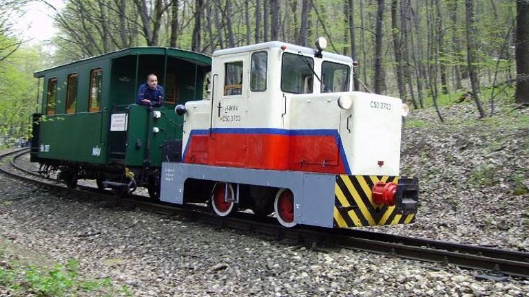 A C50-es dízelmozdony és a 113 éves kocsi