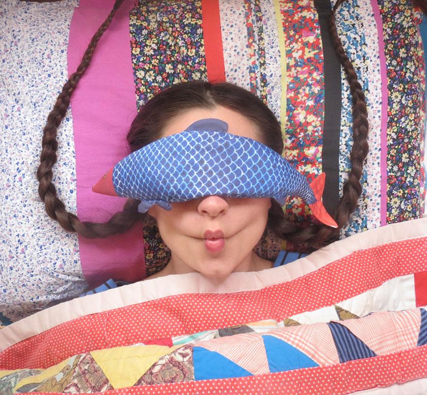 A halacskás alvómaszkra neked is szükséged van egy hosszú nap után!