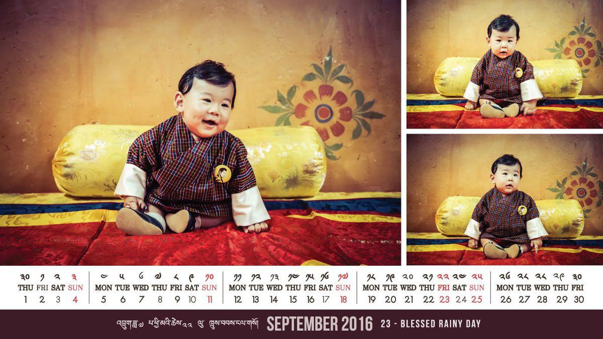 Bhután kishercege még György hercegnél is cukibb!