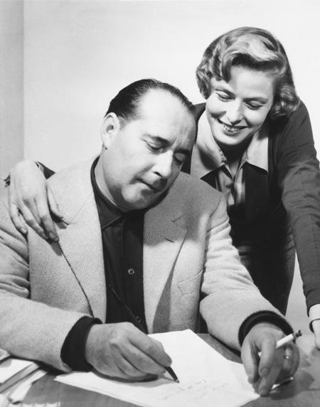 Roberto Rossellini és Ingrid Bergman