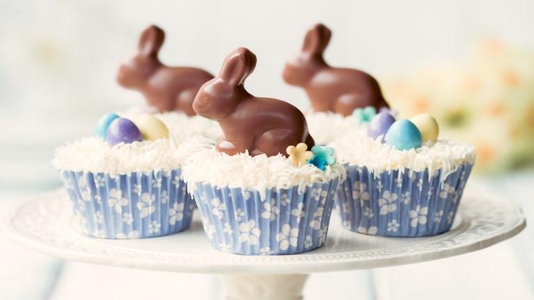 A húsvéti asztal dísze lehet: isteni muffin nyuszis dekorációval