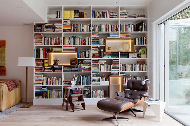 9 elképesztően sikkes házi könyvtár, amitől leesik az állad
