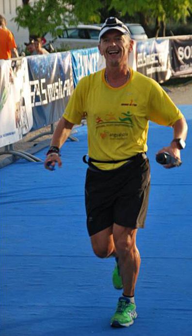 Csaba 100 kilós dohányosból lett példakép ultrafutó