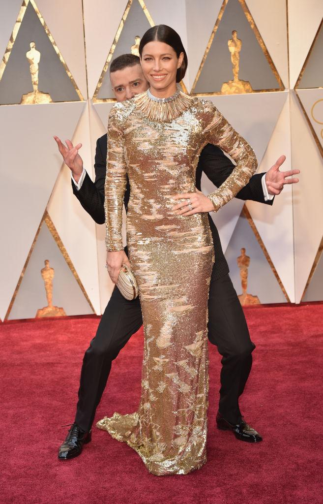 Oscar 2017: Justin Timberlake és Jessica Biel romantikázása fotóval és giffel