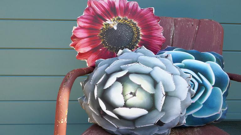 Ezekkel a párnákkal mindig virágok közt feküdhetsz