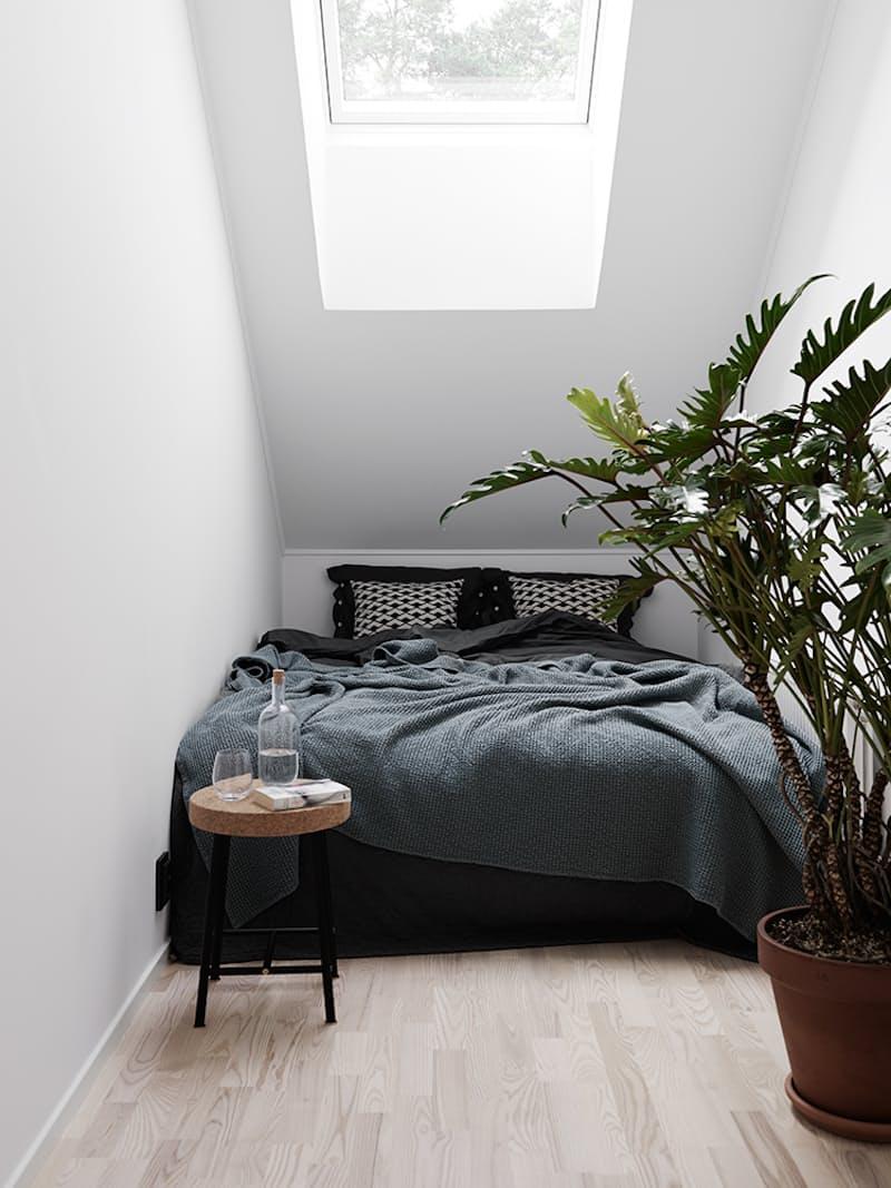 7 trükk, amit bevethetsz, ha a hálószobád alig nagyobb az ágyadnál