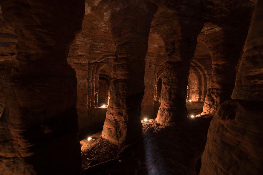 700 éves alagútrendszerbe vezet a nyúlüreg