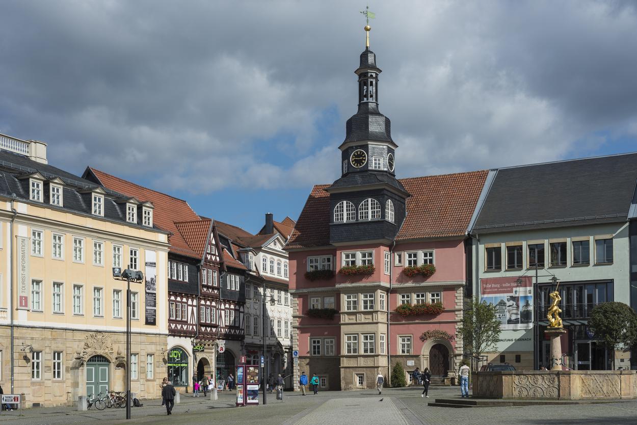 Piac tér, Eisenach (Fotó: Profimedia)