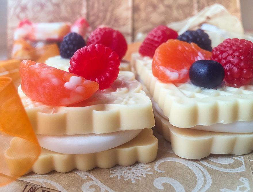 Elképesztő édességeknek néznek ki a szappanok