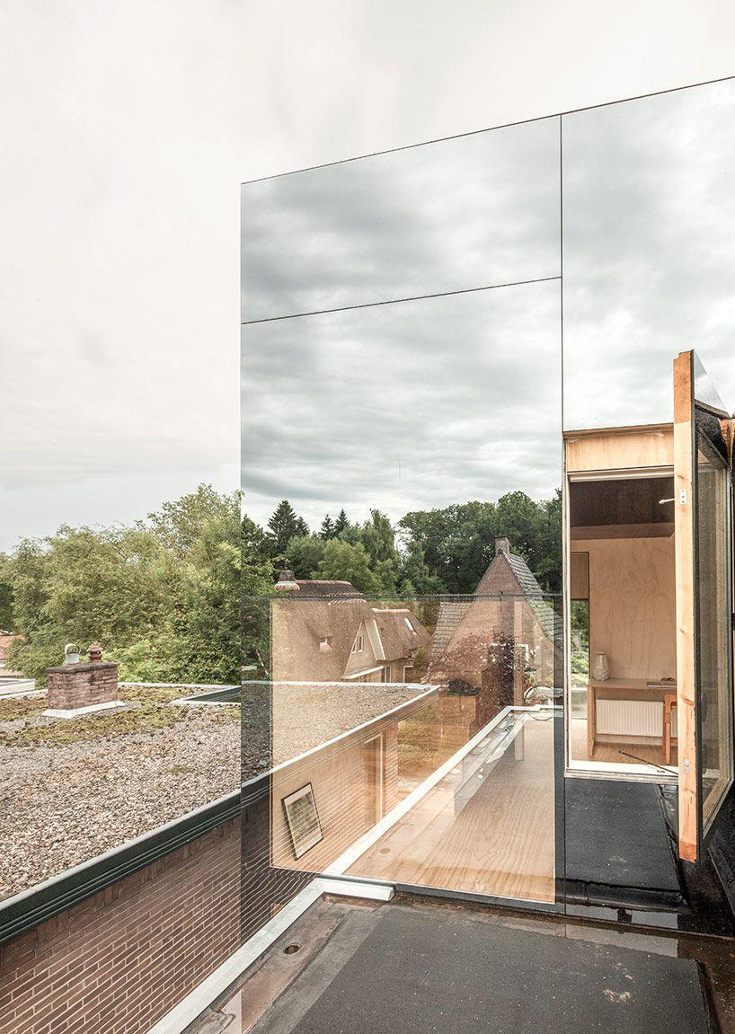 Háztetőre épült, tükörfalú miniházban lakik a világ legszerencsésebb tinije