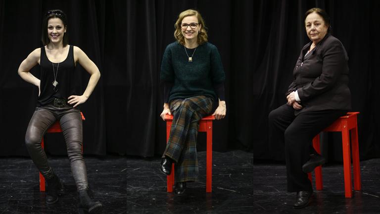 Lovas Rozi, Kováts Adél és Csomós Mari (Fotó: Hernád Géza)