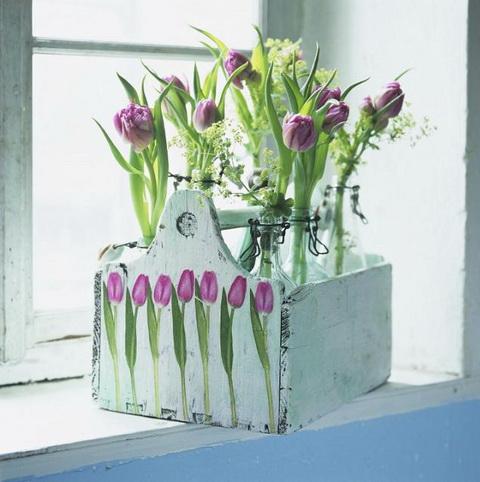 Tökéletes bizonyíték arra, hogy tulipánból, és tulipános dekorációból sosem elég!