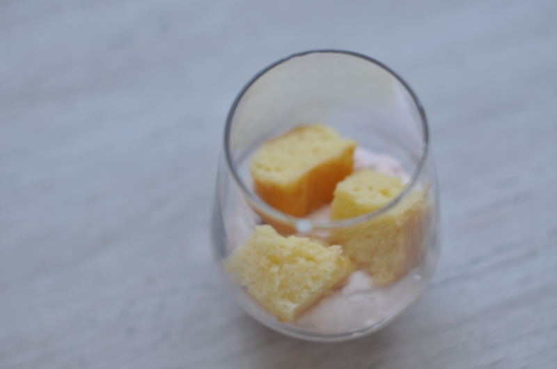 Epres piskótás pohárkrém