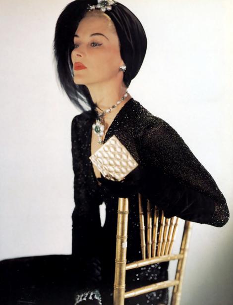 1940, Vogue címlapfotó (Fotó: Horst P. Horst)