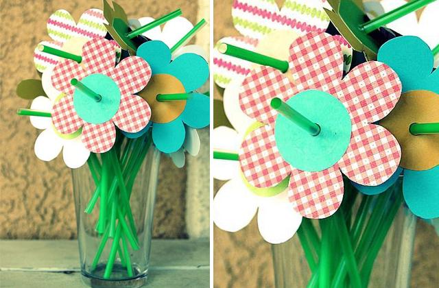 Ezzel a virággal akár az ovi anyák napi ünnepség után a frissítőjüket is elfogyaszthatják az anyukák.