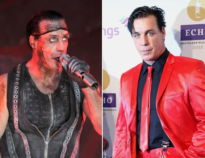Till Lindemann a Rammstein énekese