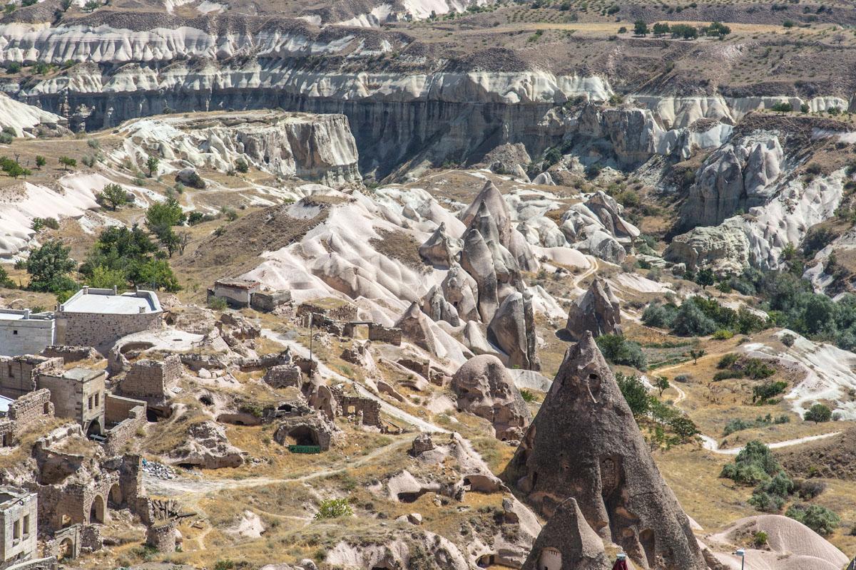 A kappadokiai táj a Csillagok háborúja alkotóit is megihlette