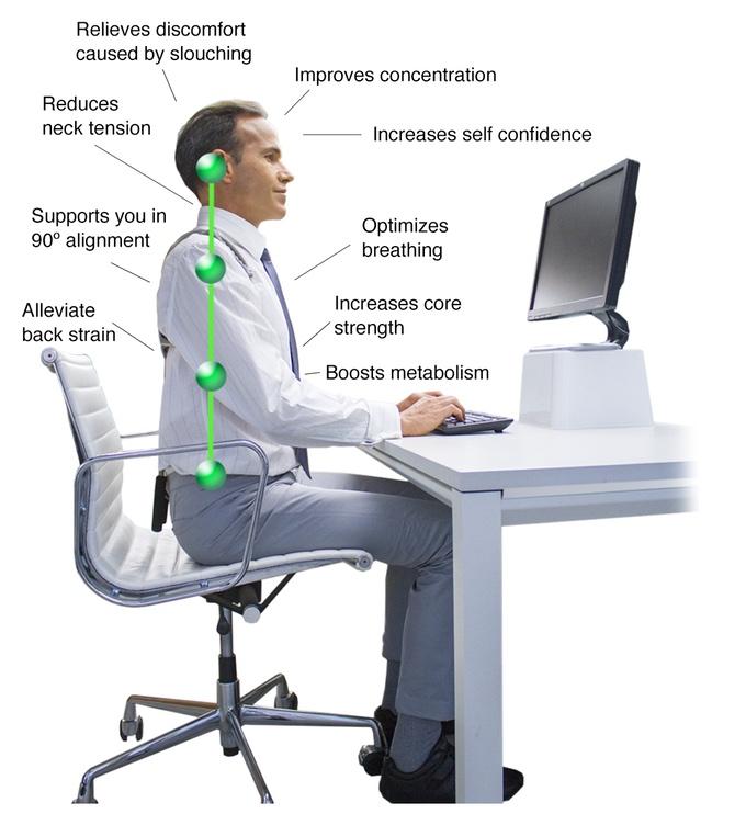 Új okoseszköz figyel rá, hogy mindig egyenesen ülj