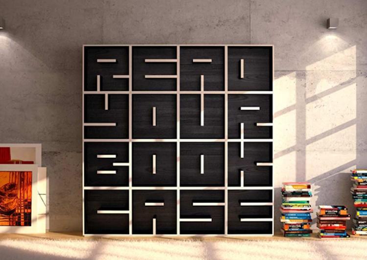 10 hihetetlenül kreatív könyvespolc, amit neked is látnod kell