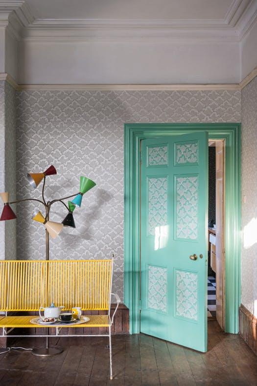 8 meglepő hely, amit tapétával dobhatsz fel a lakásban