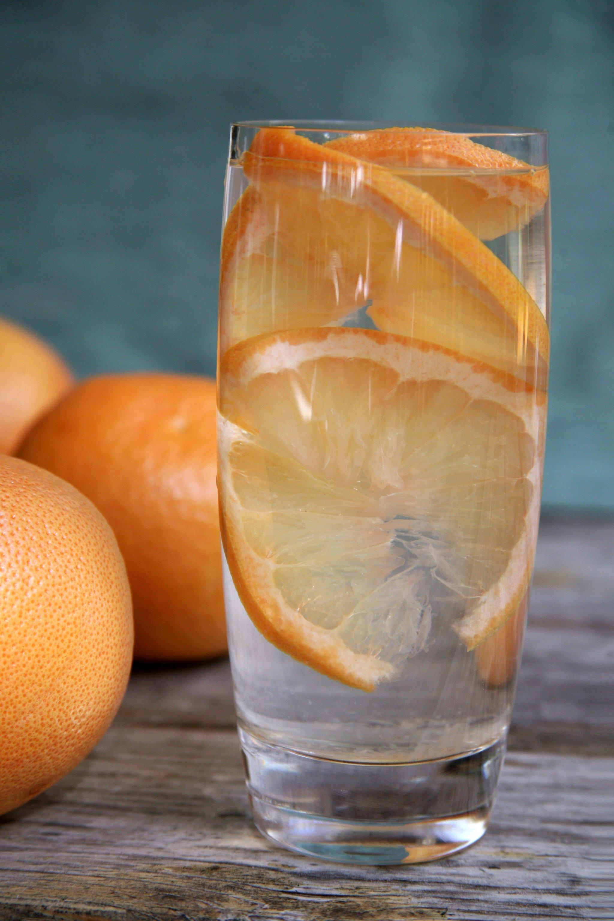 A grépfrútos víz az új citromos víz