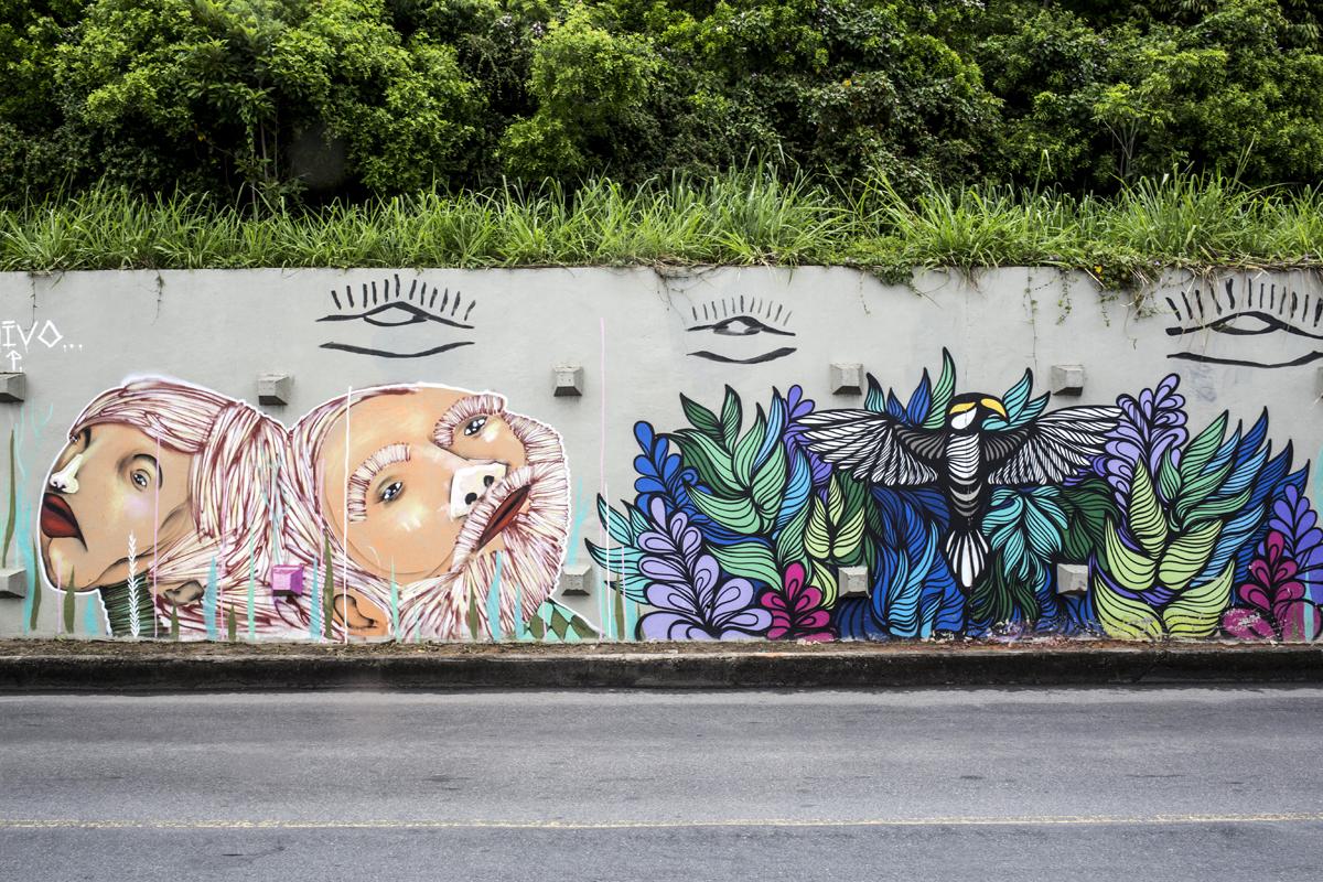 A legszebb tizenöt street art festmény Rio de Janeiro utcáin