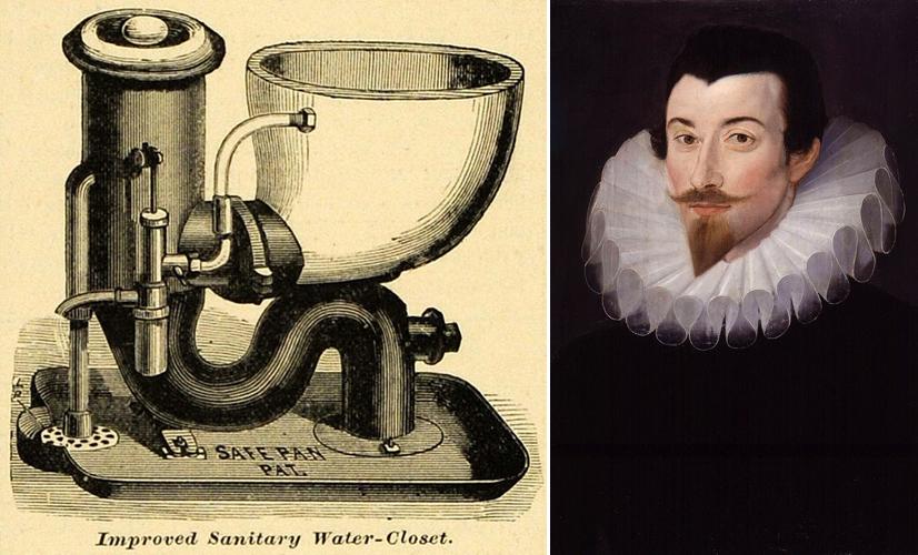 Sir John Harrington és az első angol WC