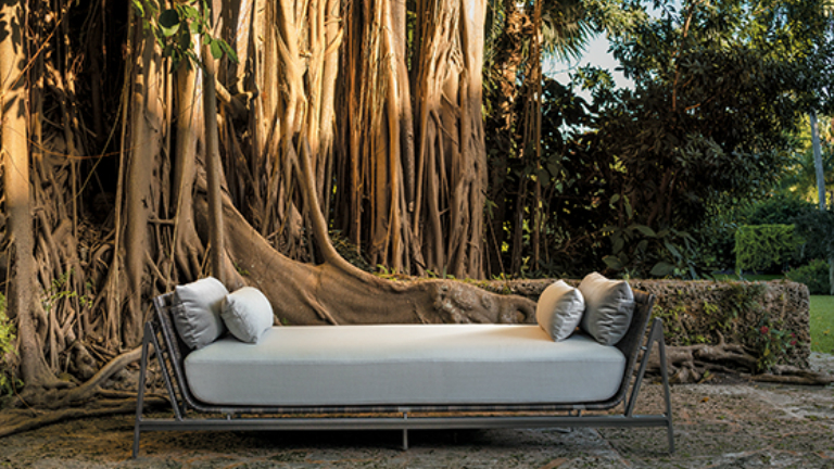 Csodaszép óceán ihlette kültéri bútorok