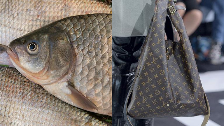 1200 dolláros Louis Vuitton táskával piacozik a nagyi