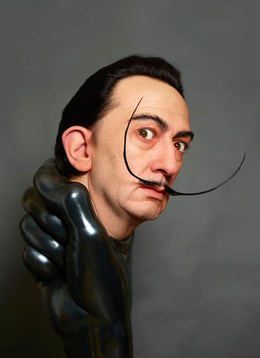 Félelmetesen realisztikus szobrokat készít a japán művész