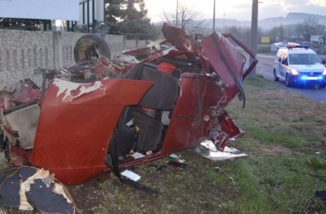 Csoda, hogy megúszták a balesetet a fiatalok