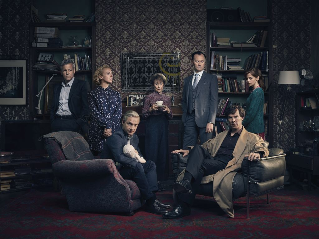Varázslatos videó a Cumberbatch-féle Sherlock sorozatról