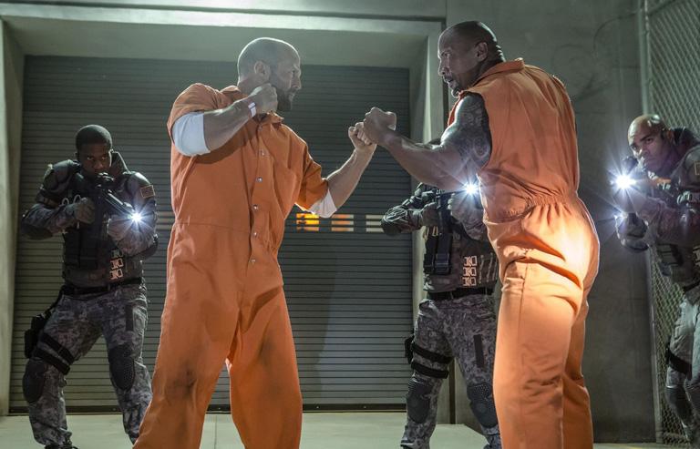 Jason Statham és Dwayne Johnson