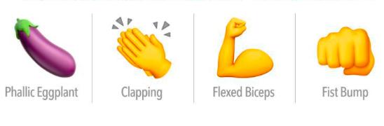 Ezeket az emojikat használd, ha biztosra akarsz menni a társkeresőkön