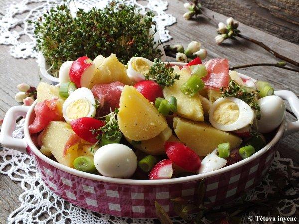 Két tavaszi saláta, ami még odafér az ünnepi asztalra