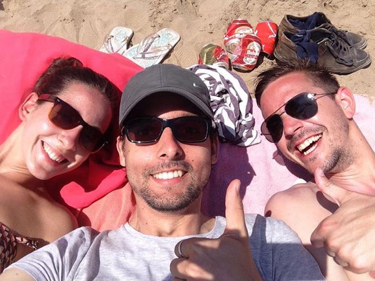 Tibi a strandon