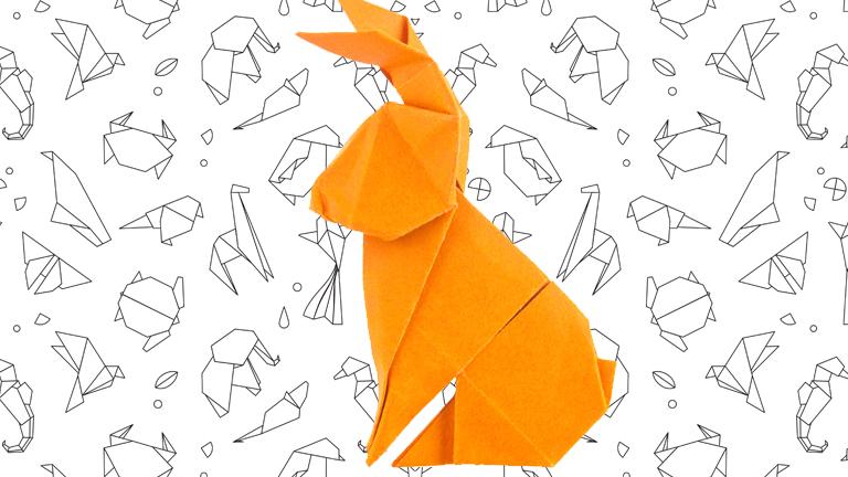 Origami állatkákkal nem csak szobánkat, körmeinket is dekorálhatjuk