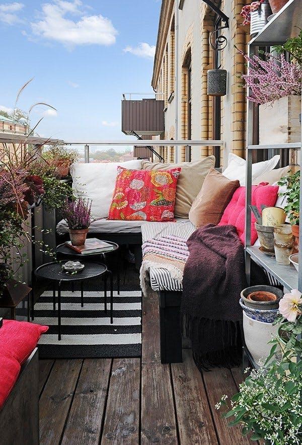 8 dolog, amire idén tavasszal az erkélyednek szüksége van