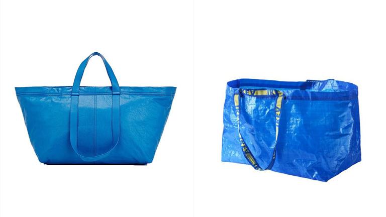 605 ezer forintért árulják a kék IKEA táska luxusváltozatát