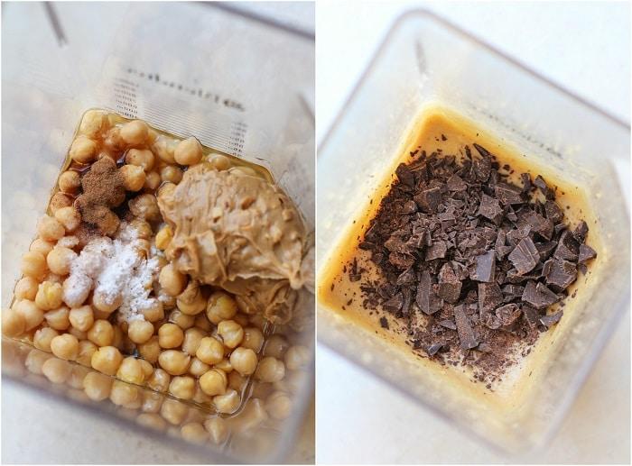 Minden mentes csokis-mogyoróvajas brownie csicseriborsóból