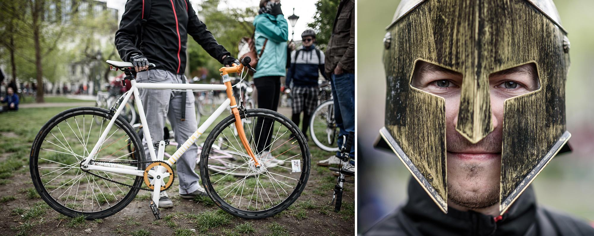 A biciklifüggők pont úgy hasonlítanak a bringájukra, mint a kutyások a kutyájukra