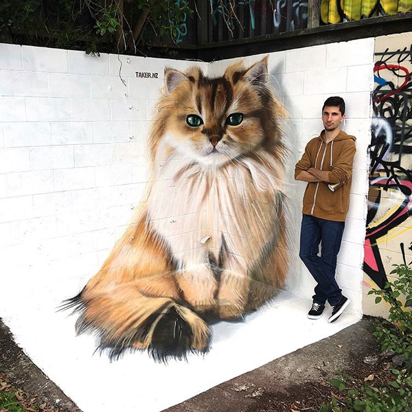 Fotó: TakerOne Photorealistic Graffiti