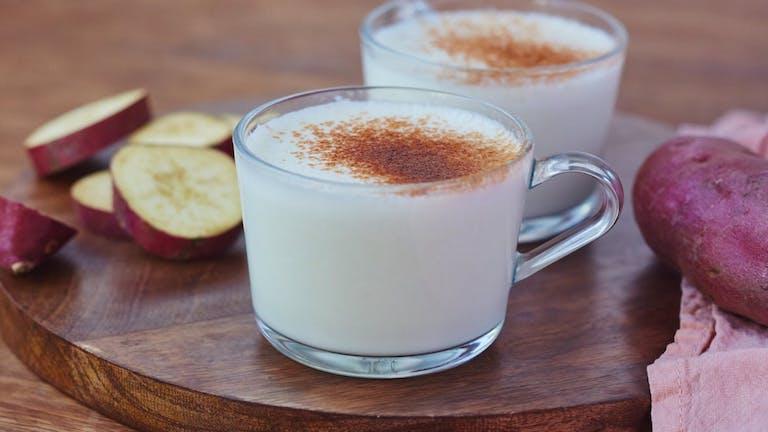 Ha valami különlegesre vágysz: koreai édesburgonyás latte
