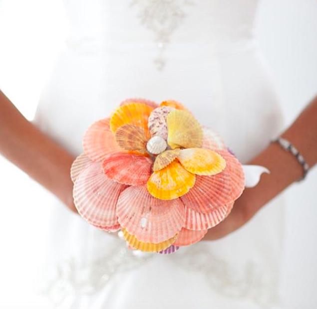 5 csodaszép esküvői csokor, ami nem virágból készült