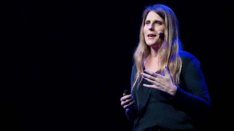 Darlene Damm a Singularity U Budapest Chapter meghívására tartott előadást a Google Groundon (Fotó: TEDx)
