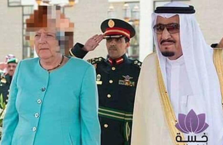 Cenzúrázta Angela Merkel haját a szaúdi tévé