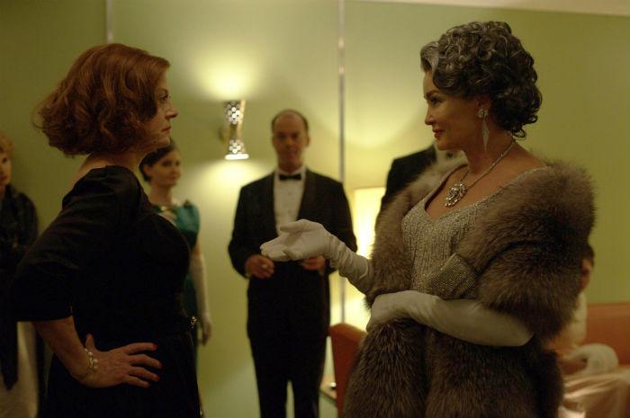 A viszály két főszereplője: Jessica Lange és Susan Sarandon