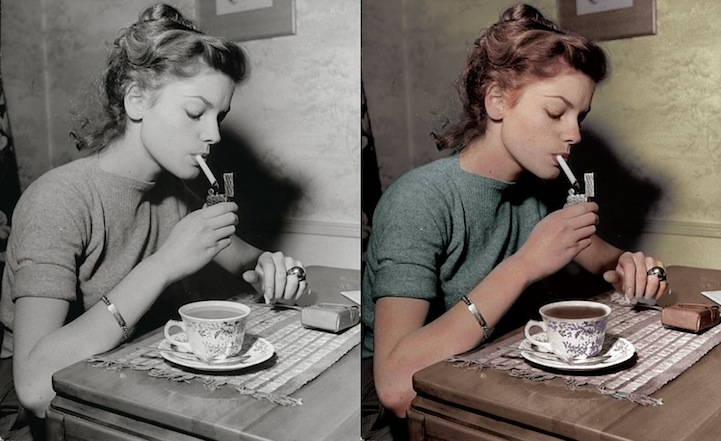 Kiszínezték Audrey Hepburn és Susan Sarandon ikonikus fekete-fehér fotóit