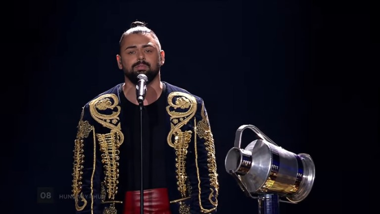 Lemásolta Pápai Joci Eurovíziós ruháját a holland focista