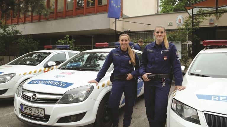 Az őrmesterek. Fotó: André Ildikó / Police.hu